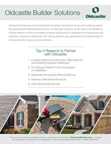 Oldcastle Builder Solutions
